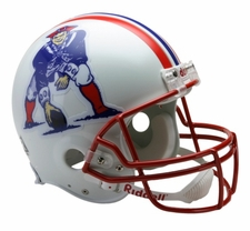 New England Patriots 1990-92 Throwback Riddell Pro Line Helmet