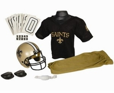 New Orleans Saints Deluxe Youth / Kids Football Uniform Set