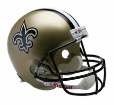 New Orleans Saints Full-Size Deluxe Replica Helmet