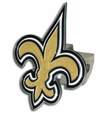 New Orleans Saints Logo Trailer Hitch Cover