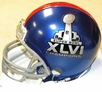 New York Giants Super Bowl XLVI 46 Champions Riddell NFL Replica Mini Helmet