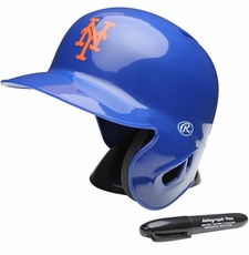 New York Mets Rawlings Mini Baseball Batting Helmet