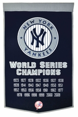 New York Yankees 24x36 Wool Dynasty Banner