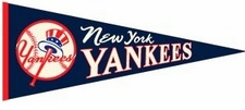 New York Yankees Cooperstown Throwback Wool Pennant #2