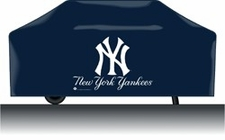 New York Yankees Deluxe Barbeque Grill Cover
