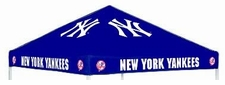 New York Yankees Navy Logo Tailgate Tent Replacement Canopy Top