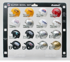 NFL Super Bowl 16-Pack NFL Pocket Pro Set Series One SBs 1-16