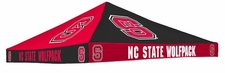 North Carolina State Checkerboard Logo Tent Replacement Canopy