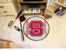 "North Carolina State Wolfpack 27"" Baseball Floor Mat"