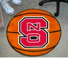 "North Carolina State Wolfpack 27"" Basketball Floor Mat"