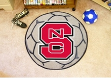 "North Carolina State Wolfpack 27"" Soccer Ball Floor Mat"