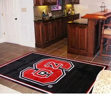 North Carolina State Wolfpack 4'x6' Floor Rug