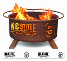 North Carolina State Wolfpack Outdoor Fire Pit