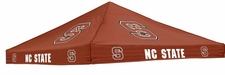 North Carolina State Wolfpack Red Logo Tent Replacement Canopy