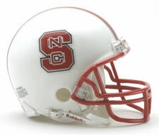 North Carolina State Wolfpack Riddell Replica Mini Helmet