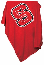 North Carolina State Wolfpack Sweatshirt Blanket