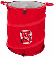 North Carolina State Wolfpack Tailgate Trash Can / Cooler / Laundry Hamper