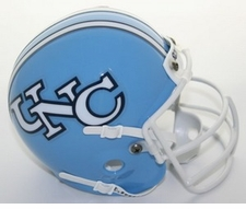 North Carolina Tar Heels 1980-85 Schutt Throwback Mini Helmet