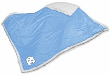 North Carolina Tar Heels Sherpa Blanket