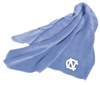 North Carolina Tarheels Fleece Throw