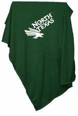 North Texas Mean Green Sweatshirt Blanket