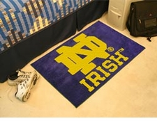 "Notre Dame Fighting Irish 20""x30"" ND Starter Floor Mat"