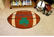 "Notre Dame Fighting Irish 22""x35"" Logo Football Floor Mat"