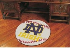 "Notre Dame Fighting Irish 27"" Baseball Floor Mat"