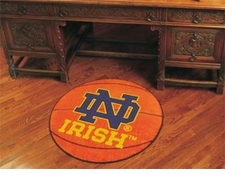 "Notre Dame Fighting Irish 27"" Basketball Floor Mat"