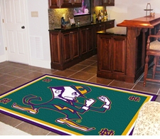 Notre Dame Fighting Irish 4'x6' Floor Rug