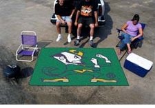 Notre Dame Fighting Irish 5'x8' Logo Ulti-mat Floor Mat