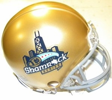 Notre Dame Fighting Irish Chicago Shamrock Series Riddell Replica Mini Helmet