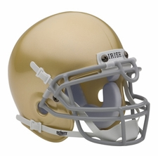 Notre Dame Fighting Irish Schutt Authentic Mini Helmet