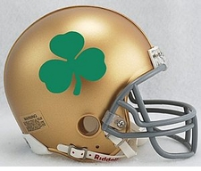 Notre Dame Fighting Irish Shamrock Riddell Replica Mini Helmet