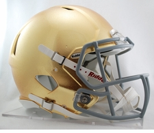Notre Dame Fighting Irish Special Gold Riddell Revolution Speed Authentic Helmet