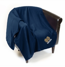 Notre Dame Fighting Irish Sweatshirt Throw Blanket