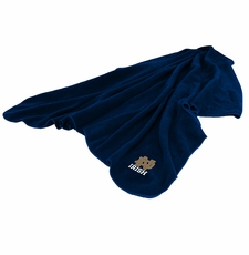 Notre Dame Huddle Throw