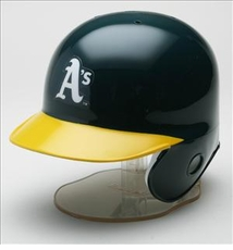 Oakland Athletics Riddell Mini Baseball Batting Helmet