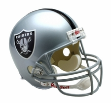 Oakland Raiders Full-Size Deluxe Replica Helmet