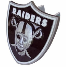 Oakland Raiders Logo Trailer Hitch Cover