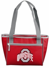 Ohio State Buckeyes 16 Can Cooler Tote