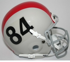 Ohio State Buckeyes 1964-65 Schutt Throwback Mini Helmet