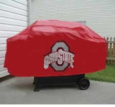 Ohio State Buckeyes Deluxe Barbeque Grill Cover