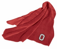 Ohio State Buckeyes Fleece Throw