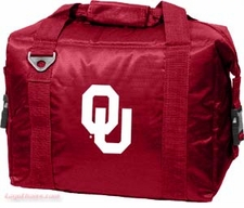 Oklahoma Sooners 12 Pack Small Cooler
