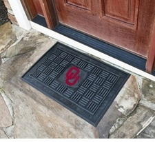 Oklahoma Sooners 19x30 Medallion Door Mat