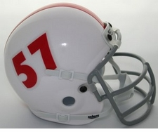 Oklahoma Sooners 1957-65 Schutt Throwback Mini Helmet