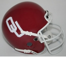 Oklahoma Sooners 1977 Schutt Throwback Mini Helmet