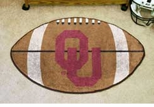 "Oklahoma Sooners 22""x35"" Football Floor Mat"