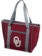 Oklahoma Sooners 30 Can Cooler Tote